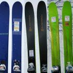 2017年モデルスキー試乗の総括~フリーライドモデル